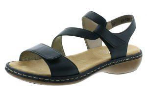 Rieker 659C7-15 navy cross sandal Sizes - 37 to 41 Price - £57.00