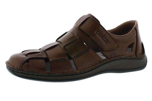 Rieker Mens 05273-25 Toffee brown sandal Sizes - 41 to 45 Price - £67.00 (20% off) £53.00