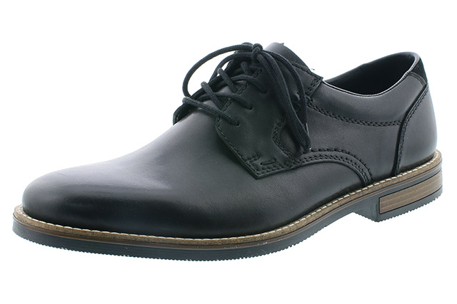 Rieker Mens 13513-00 black lace shoe Sizes - 41 to 46 Price - £79.00 (20% off) £63.00