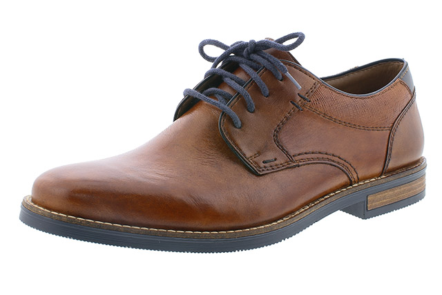 Rieker Mens 13521-24 Tan navy lace shoe Sizes - 41 to 45 Price - £79.00 (20% off) £63.00