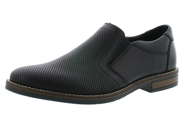 Rieker Mens 13571-00 black casual shoe Sizes - 41 to 45 Price - £75.00