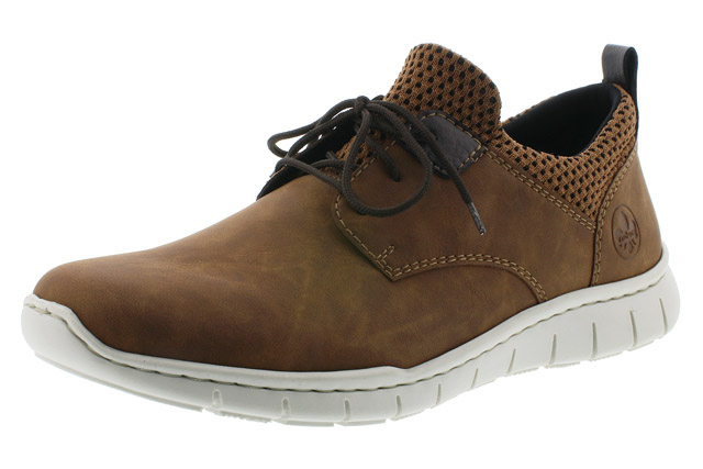 Rieker Mens B8753-26 tan lace shoe Sizes - 41 to 45 Price - £57.00 (20% off) £45.00