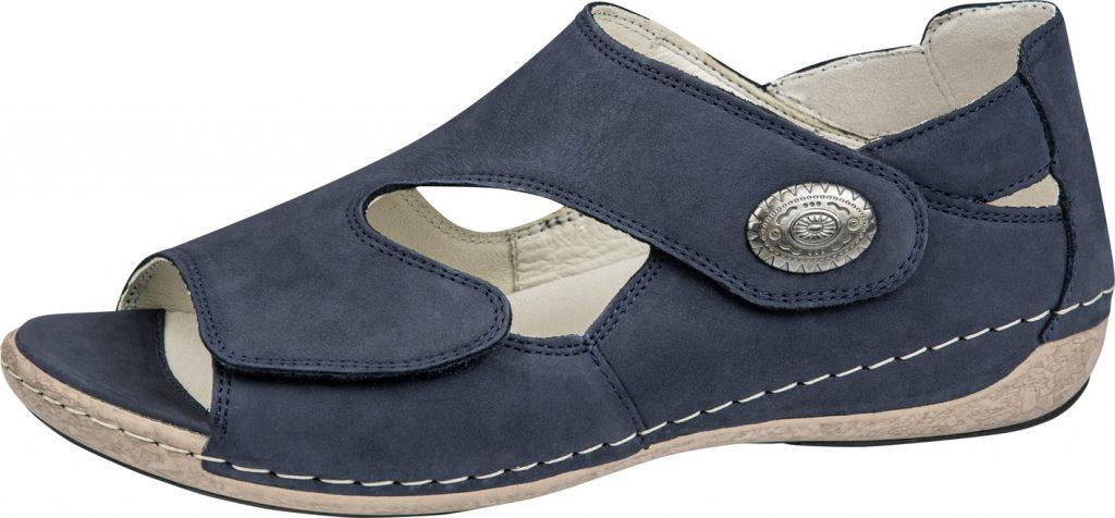 Waldlaufer 342021 Heliett Navy twin strap sandal Sizes - 5 to 8 Price - £62.00 (20% off) Now £49.00