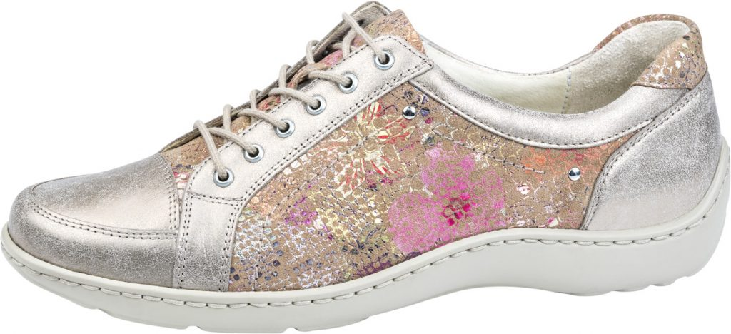 Waldlaufer 496005 Henni Gold multi metallic lace shoe Sizes - 4 to 7 Price - £72.00 (20% OFF) Now £57.00
