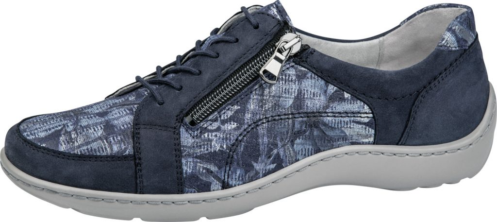 Waldlaufer 496042 Henni Marine multi lace zip shoe Sizes - 5 to 8 Price - £72.00 (20% off) Now £57.00