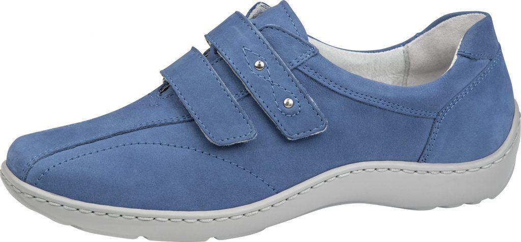 Waldlaufer 496301 Henni Saphire blue twin strap shoe Sizes - 4 to 7 Price - £72.00 (20% off) Now £57.00