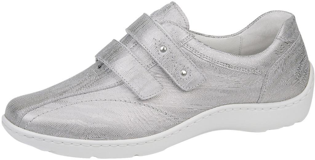 Waldlaufer 496301 Henni light silver twin strap shoe  Sizes - 4 to 7  Price - £72.00 (20% off) Now £57.00