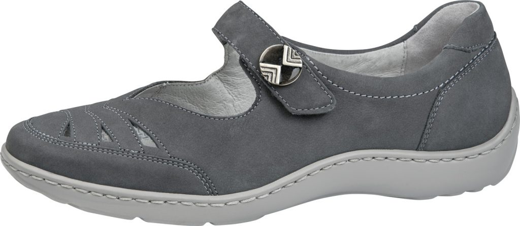 Waldlaufer 496309 Henni Grey bar shoe Sizes - 4 to 7 Price - £72.00 (20% off) Now £57.00