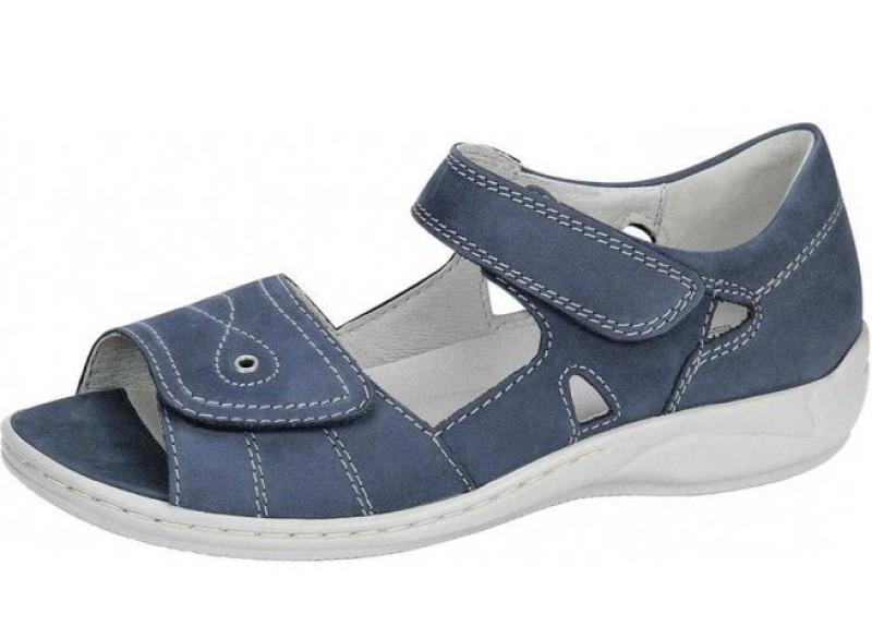 Waldlaufer 582028 Hilena Jeans blue twin strap sandal Sizes - 4 to 7 Price - £62.00 (20% off) Now £49.00