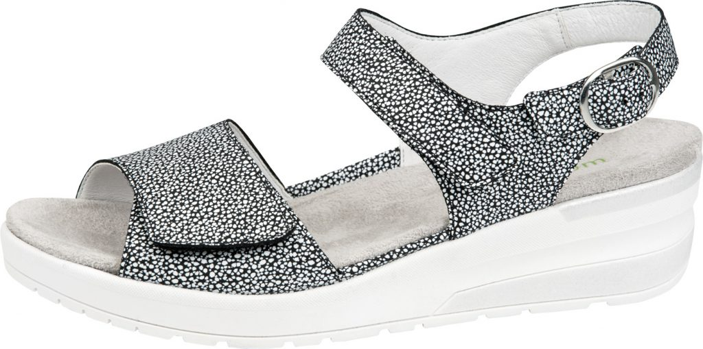 Waldlaufer 702005 H Claudia Black multi twin strap sandal Sizes - 5 to 8 Price - £72.00 (20% off) Now £57.00