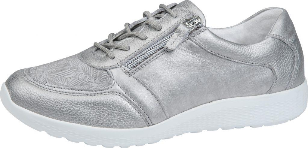 Waldlaufer 872M01 M Iris Metallic lace zip shoe Sizes - 4 to 7 Price - £92.00
