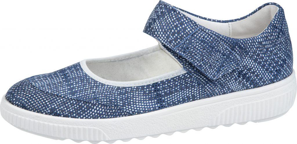Waldlaufer 910302 H Steffi Blue multi bar shoe Sizes - 5 to 8 Price - £72.00 (20% OFF) Now £57.00