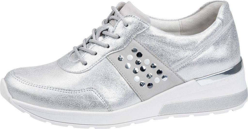 Waldlaufer 939004 H Clara Silver multi lace shoe Sizes - 4 to 7 Price - £72.00