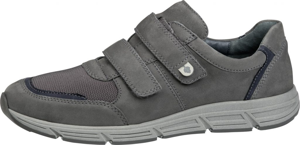 Waldlaufer Mens 323301 Haslo grey twin strap shoe Sizes - 7 to 10 Price - £79.00 (20% OFF) Now £63.00