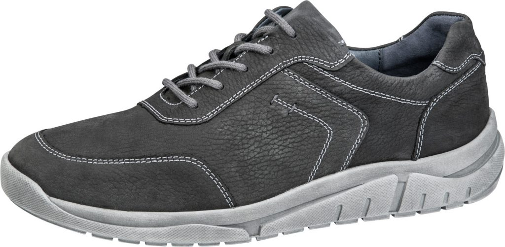 Waldlaufer Mens 924005 Hanson Grey lace shoe Sizes - 7 to 10 Price - £79.00 (20% OFF) Now £63.00