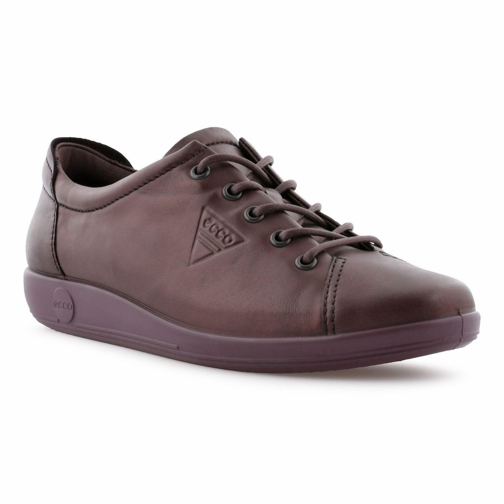 Ecco 206503 Soft 2 Fig metallic Lace Shoe   Sizes - 37 to 42   Price - £85
