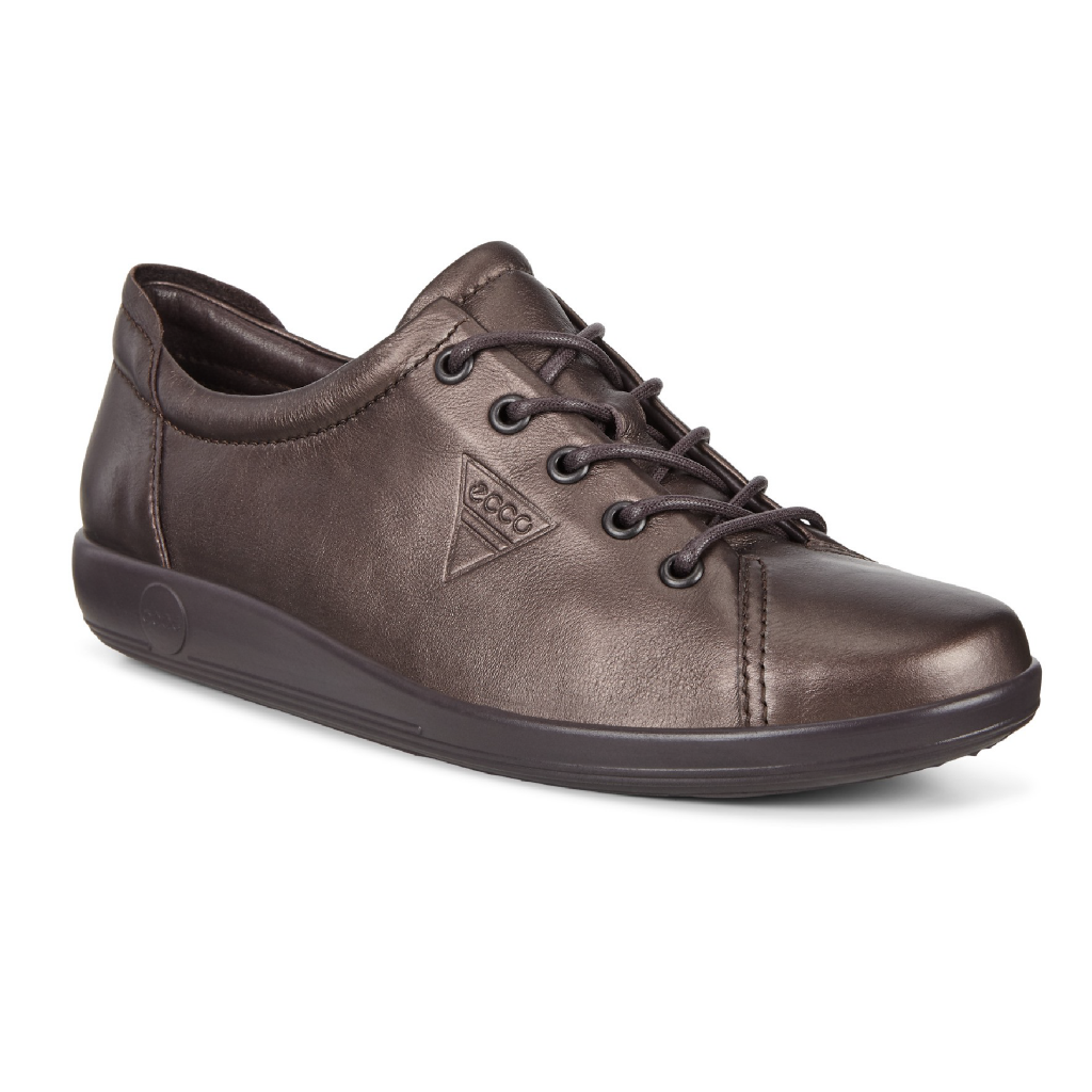 Ecco 206503 Soft 2 Shale Lace Shoe   Sizes - 37, 38, 39 and 42.   Price - £85