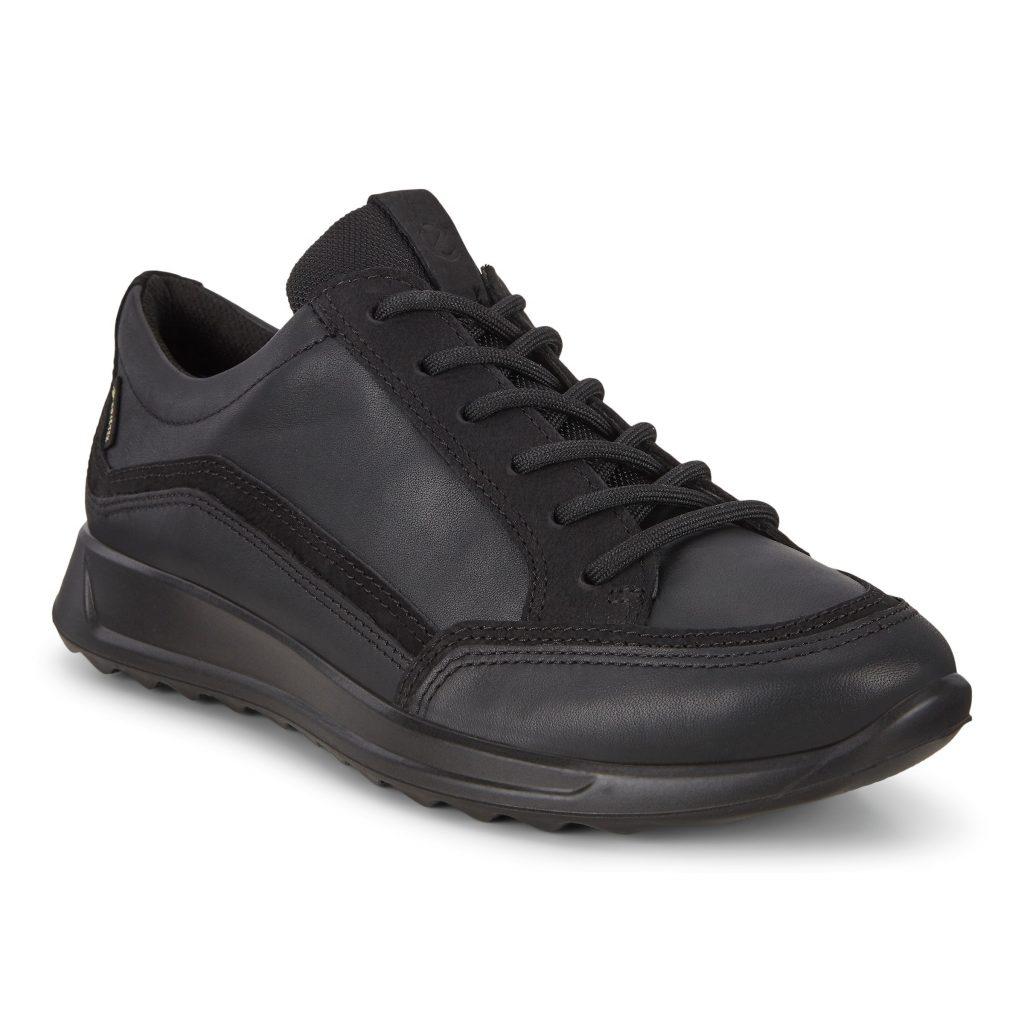 Ecco 292363 Flexure Black GoreTex Lace Shoe  Sizes - 37, 41 and 42.   Price - £120 NOW £79