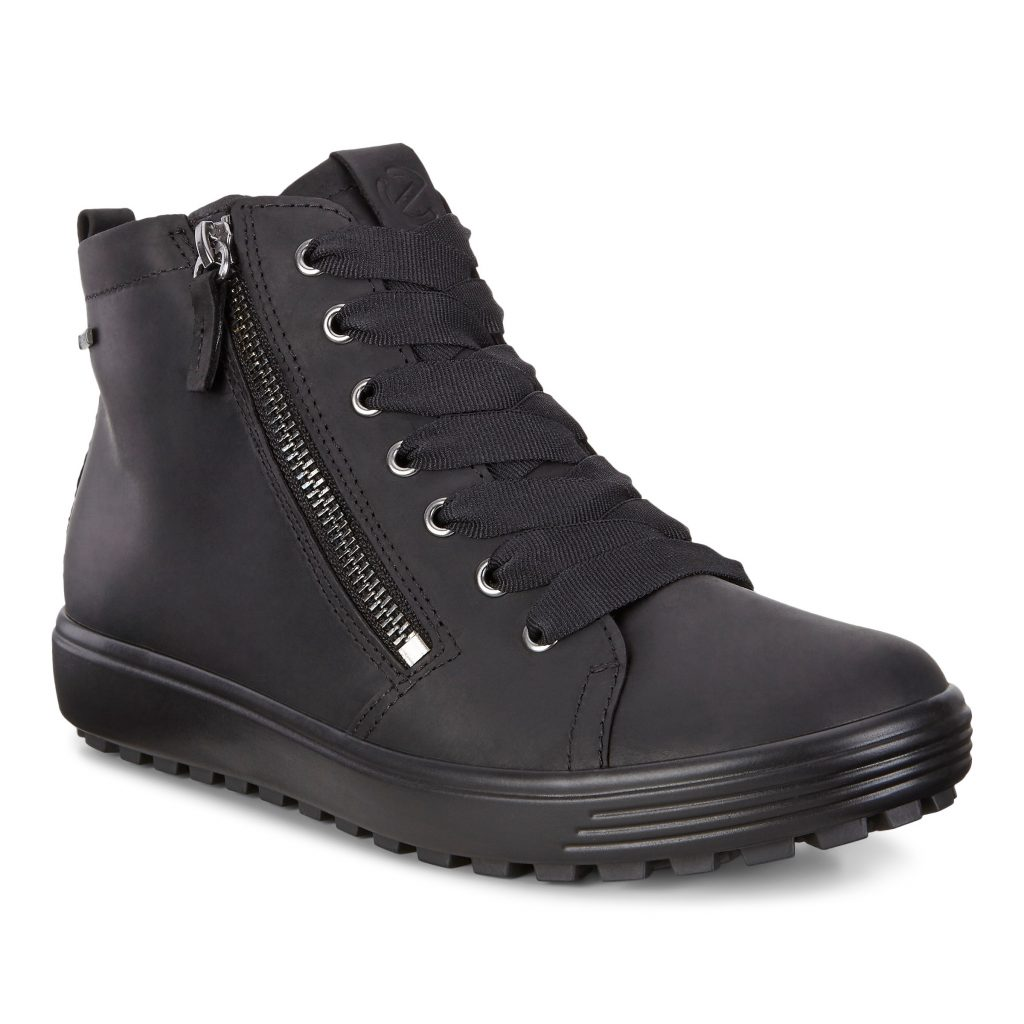 Ecco 450163 Soft 7 Black Lace Boot Sizes - 37 to 41 Price - £140