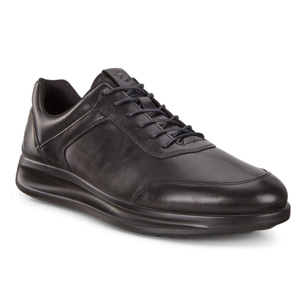 Ecco Mens 207124 Aquet Black Lace Shoe Sizes - 41 to 45 Price - £110