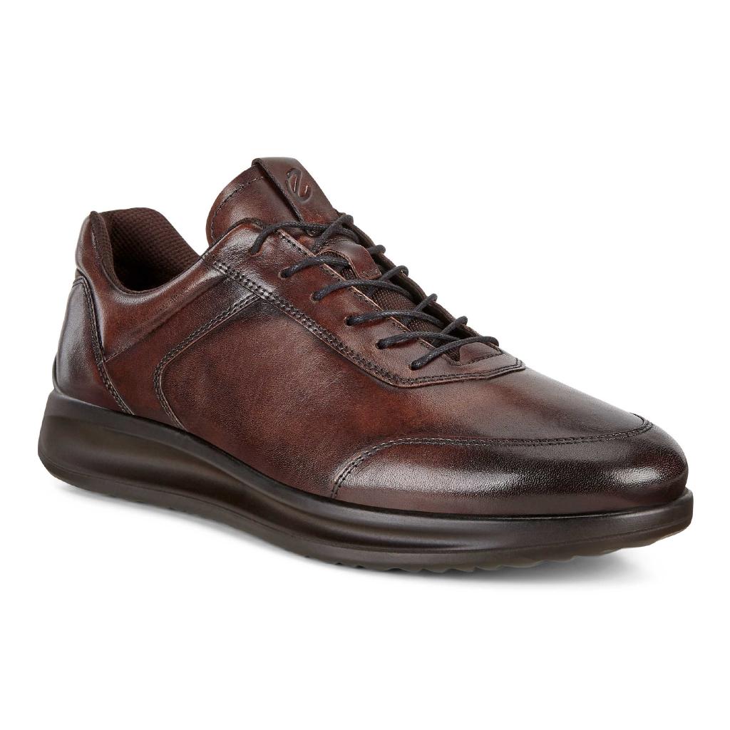 Ecco Mens 207124 Aquet Brown Lace Shoe Sizes 41 to 46 Price - £110