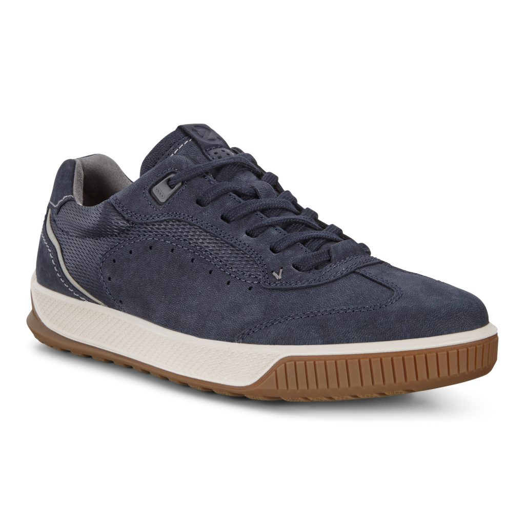 Ecco Mens 501804 Byway Blue Lace Shoe Sizes - 41 to 45 Price - £120