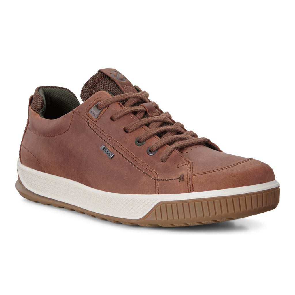 Ecco Mens 501824 Byway Brown Lace Shoe Sizes - 41 to 45 Price - £130