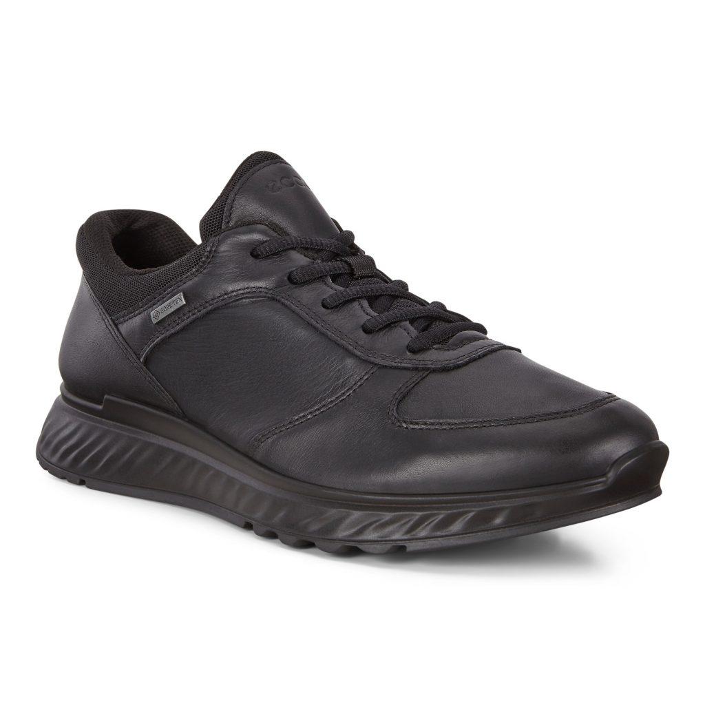 Ecco Mens 835304 Exostride Black Lace Shoe Sizes - 41 to 45 Price - £130