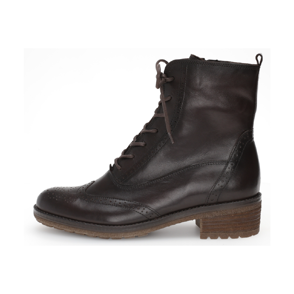 Gabor 51.612.28 Black lace boot Sizes - 4.5 to 7 Price - £120