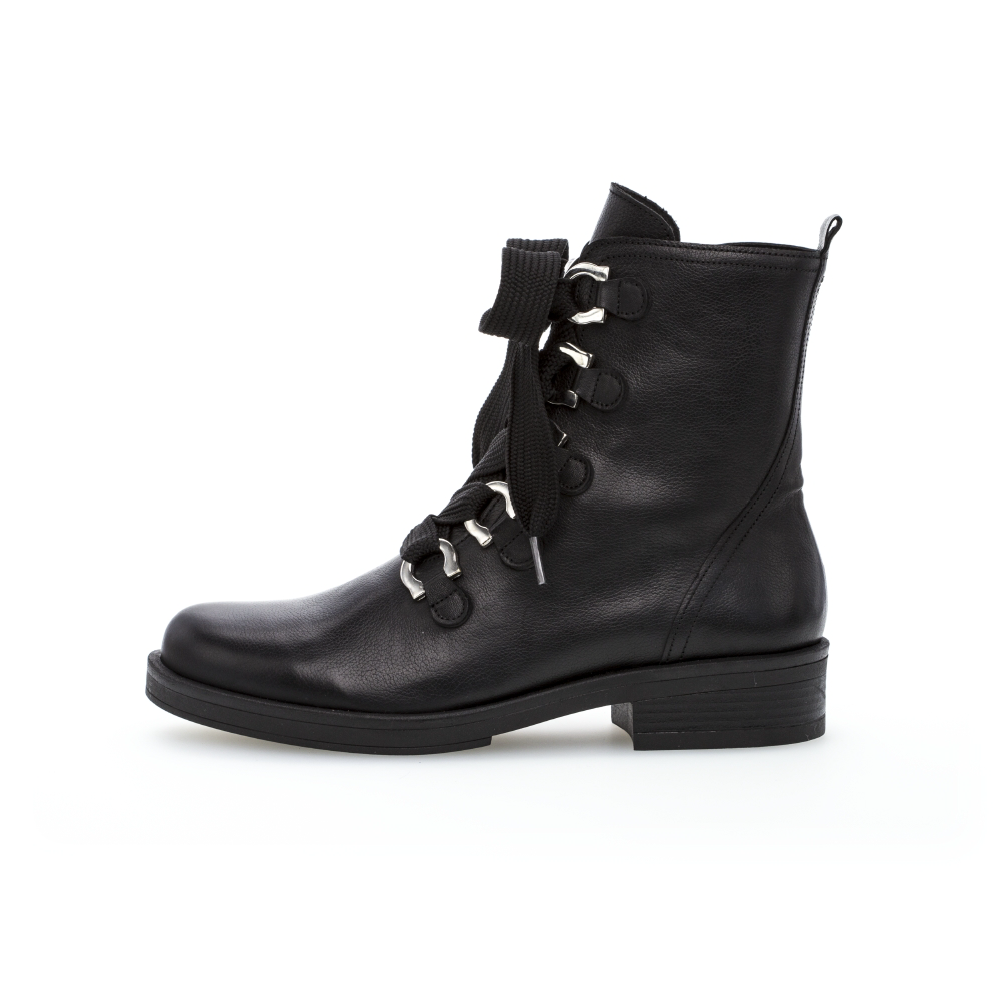 Gabor 51.790.27 Black lace boot Sizes - 4.5 to 7 Price - £120