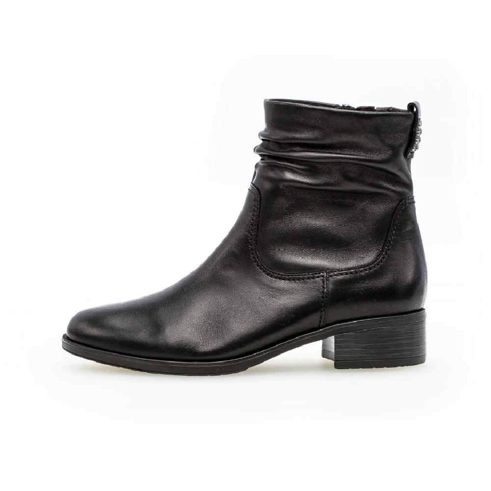 Gabor 52.060.57 Black slip-on boot Sizes - 4.5 to 7 Price - £95