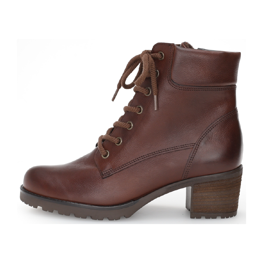 Gabor 52.805.51 Brown lace boot Sizes - 4.5 to 7 Price - £120