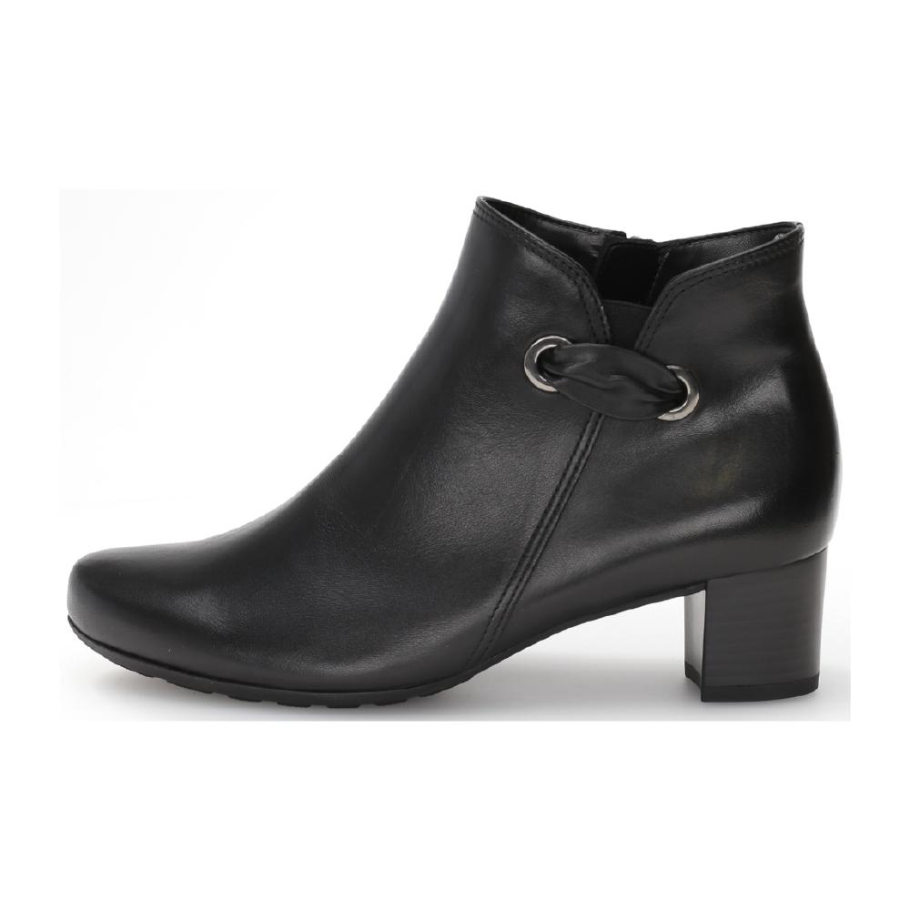 Gabor 52.827.57 Black zip boot Sizes - 4.5 to 7 Price - £95