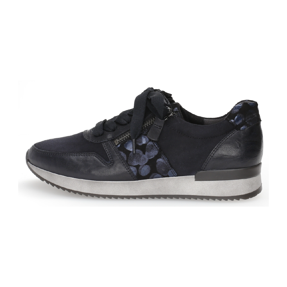 Gabor 53.420.26 Black zip shoe Sizes - 4.5 to 7 Price - £95