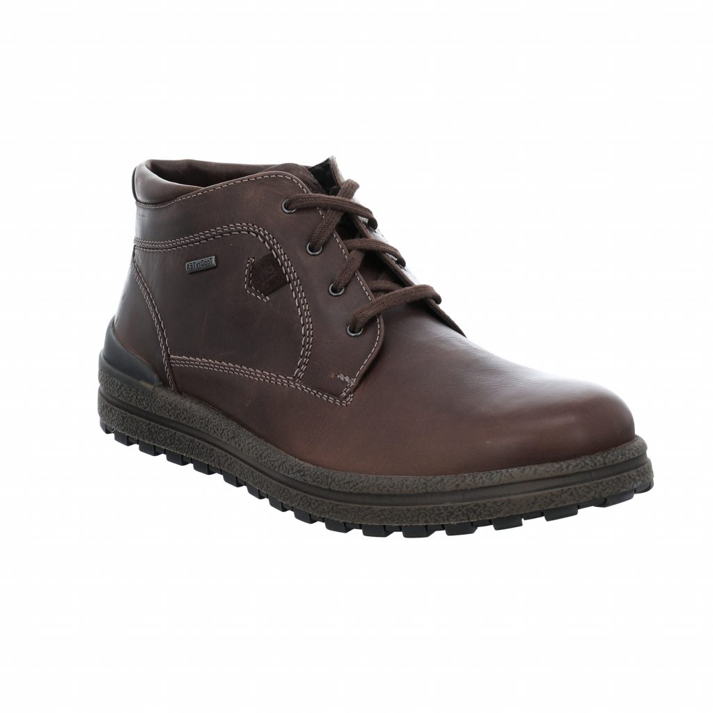 Josef Seibel Mens Emil 59 Brown Tex Lace Boot   Sizes - 41, 45 and 46.   Price - £110 NOW £79