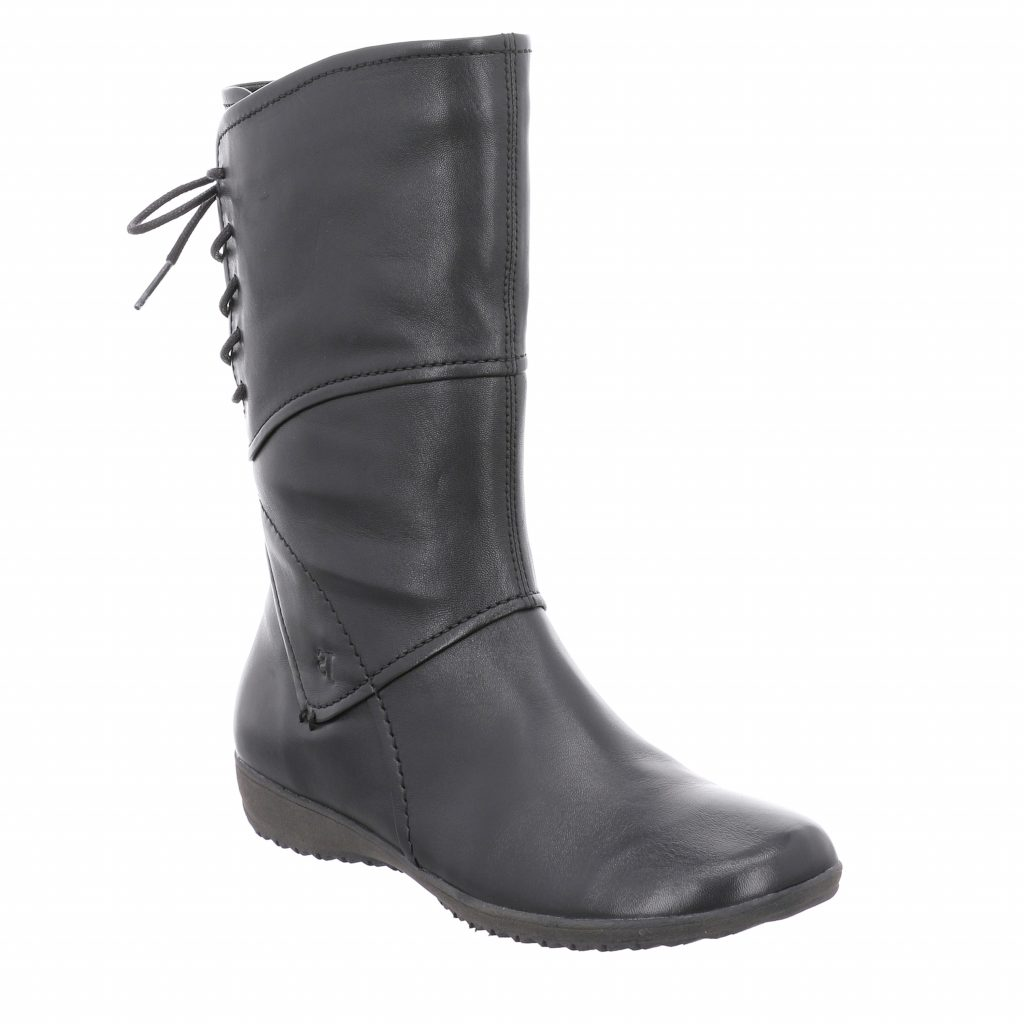 Josef Seibel Naly 07 Black Long Boot Sizes - 37, 39, 40 and 41.  Price - £105 NOW £69