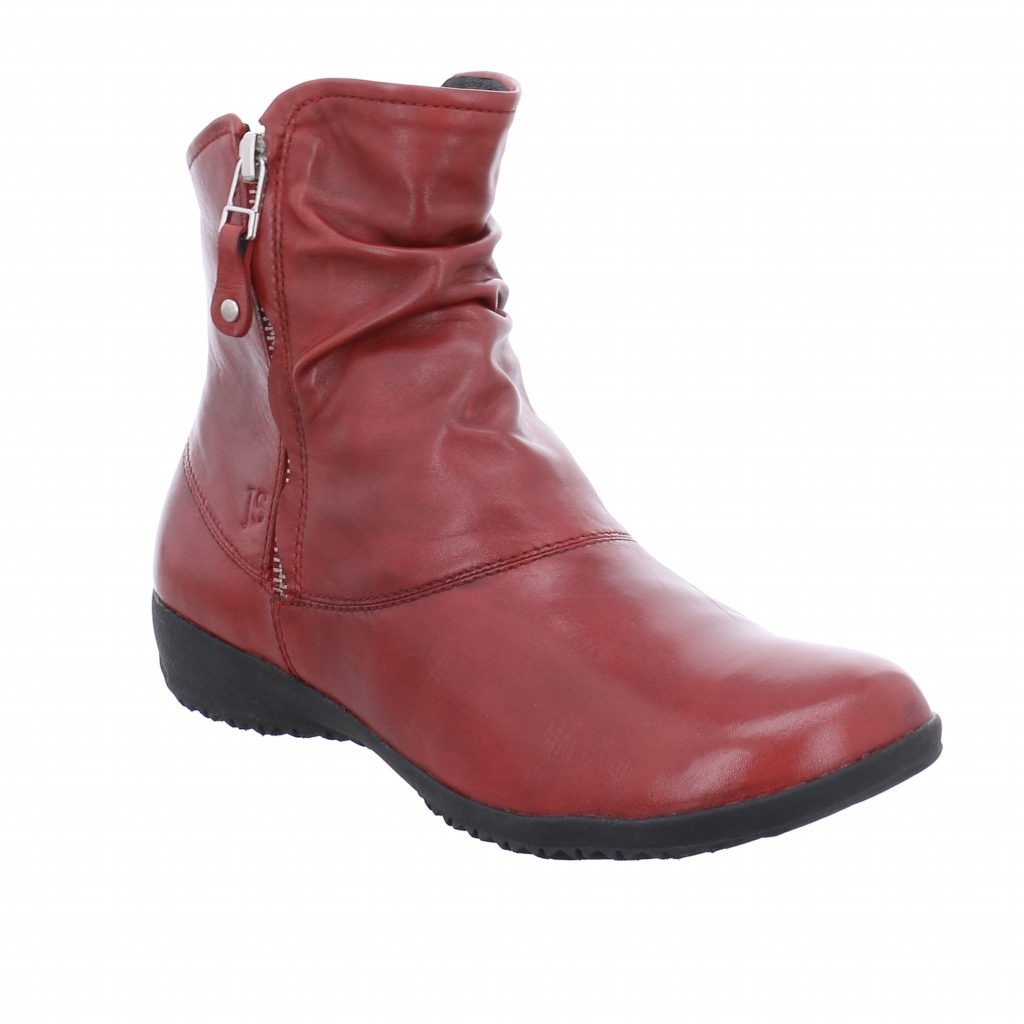 Josef Seibel Naly 24 Red Zip Boot Sizes - 37 to 40 Price - £95 NOW £69