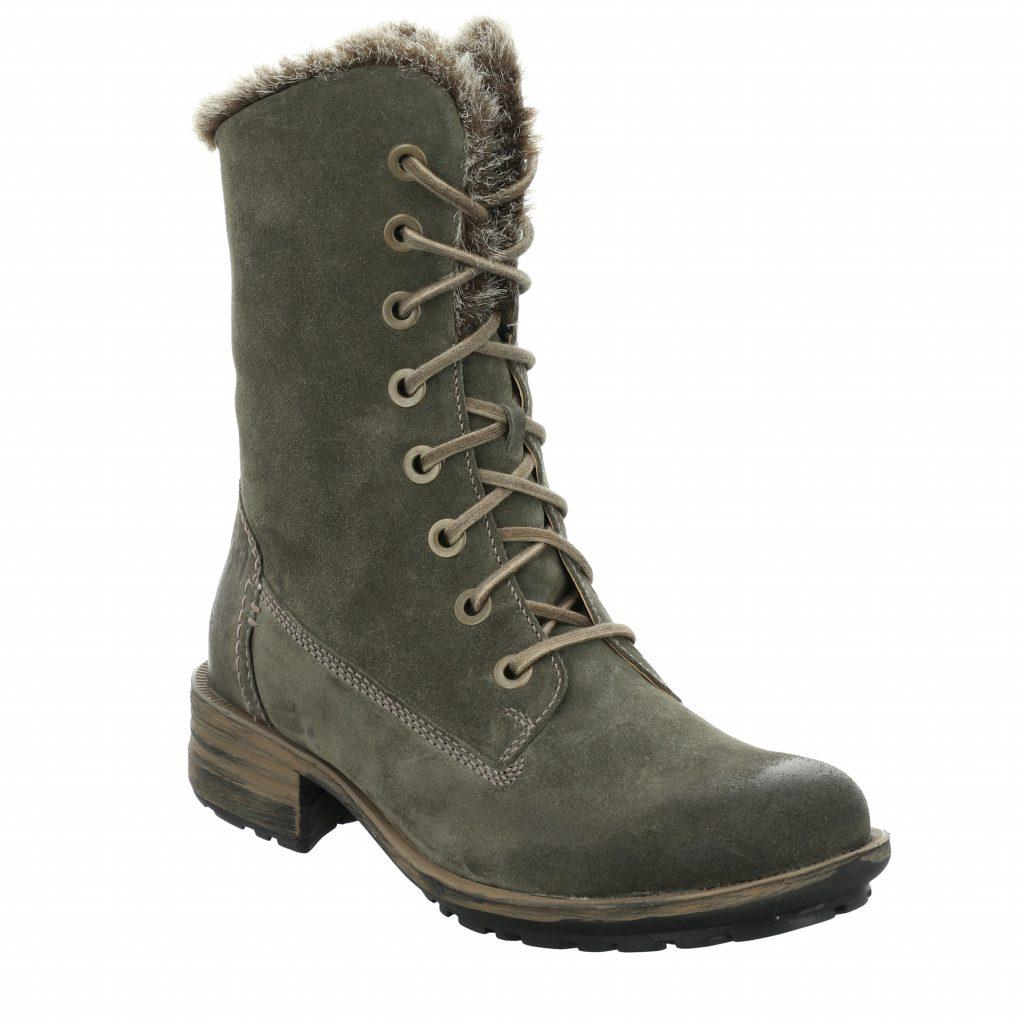 Josef Seibel Sandra 93 Green Lace Boot Sizes - 37 to 41 Price - £110
