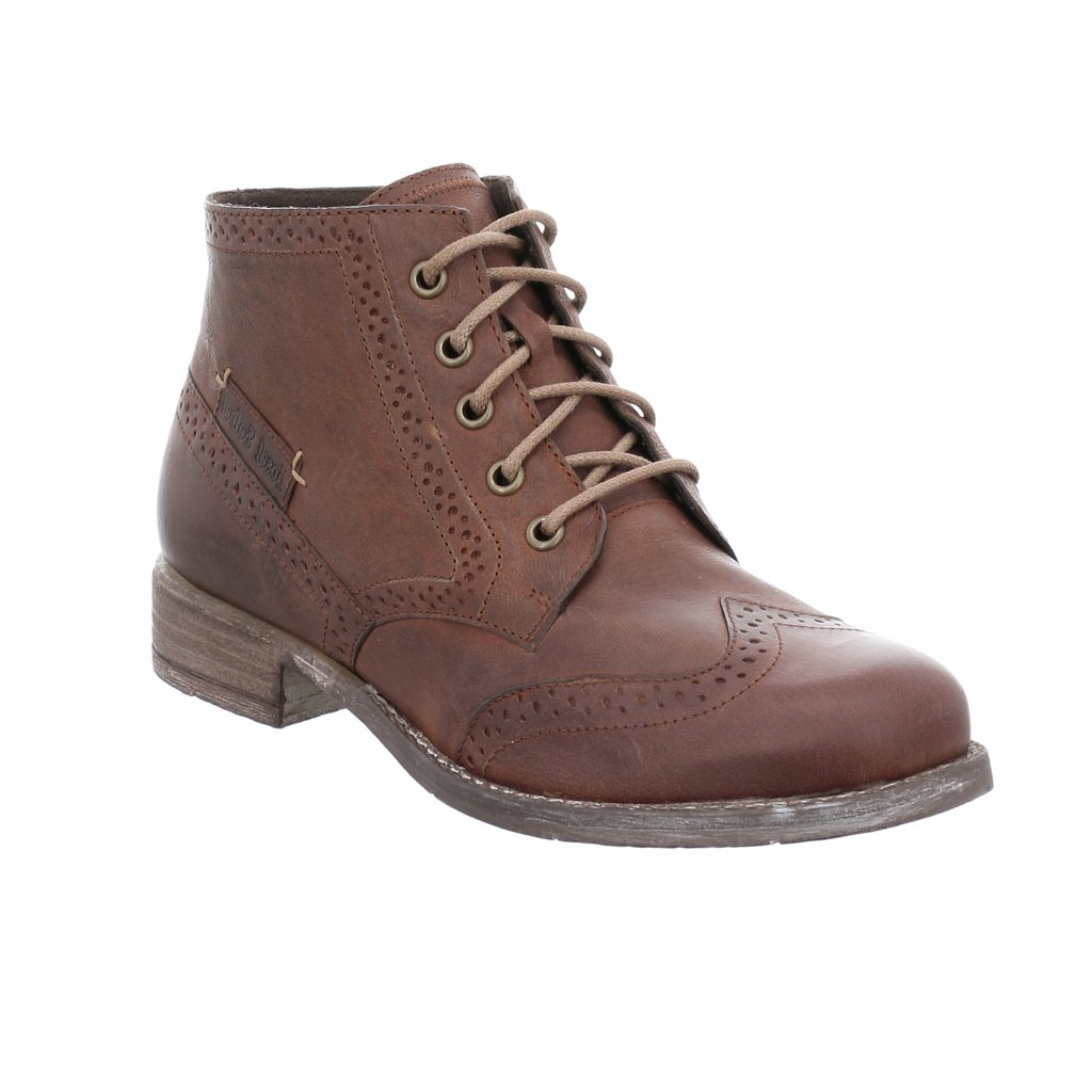 Josef Seibel Sienna 74 Brown Lace Boot    Sizes - 38, 39 and 42.   Price - £99 NOW £69