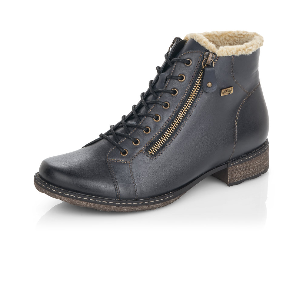 Remonte D4372-14 Blue Tex zip/lace boot   Sizes -  40 only.   Price - £85 NOW £59