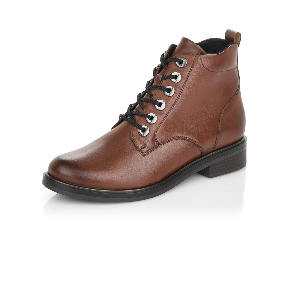 Remonte D8370-22 Brown lace boot Sizes - 37, 39 and 40.   Price - £85 NOW £49