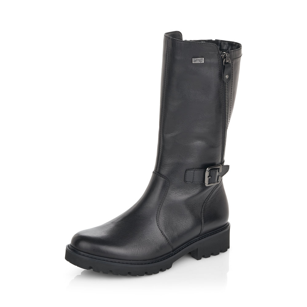 Remonte D8673-01 Black Mid zip boot   Sizes - 37, 40 and 41.   Price - £97 NOW £59