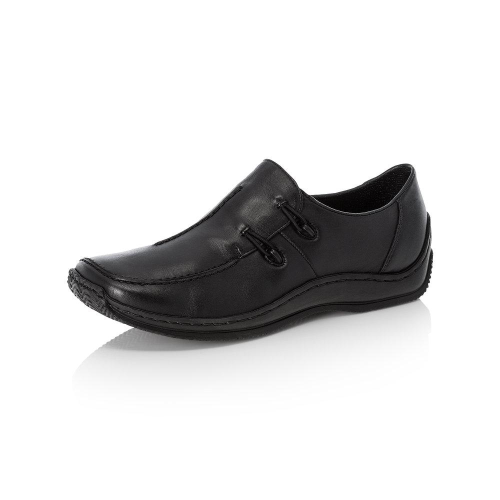Rieker L1751-00 Black slip-on shoe Sizes - 37 to 41 Price - £59