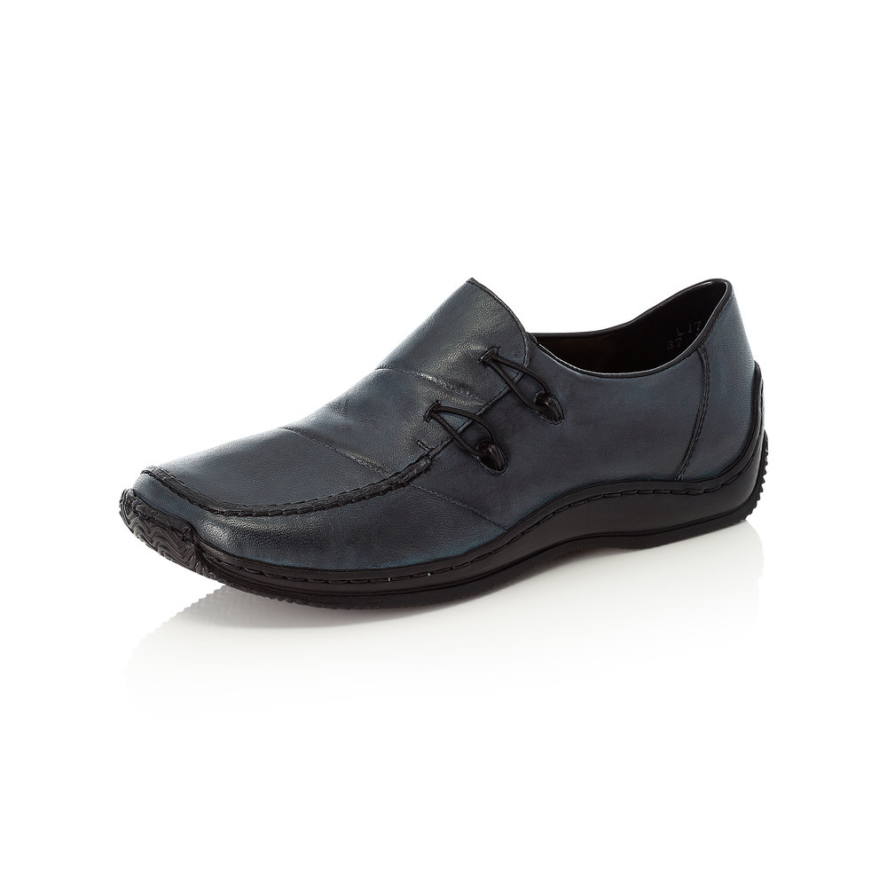 Rieker L1762-14 Navy slip-on shoe   Sizes - 37 to 42   Price - £59