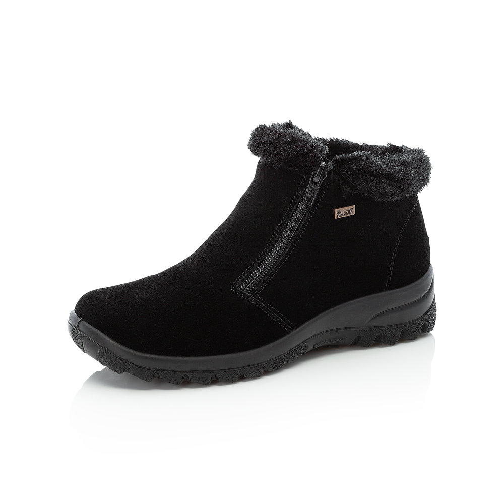 Rieker L7163-00 Black twin zip Tex boot   Size - 40 only.   Price - £65 Now £49