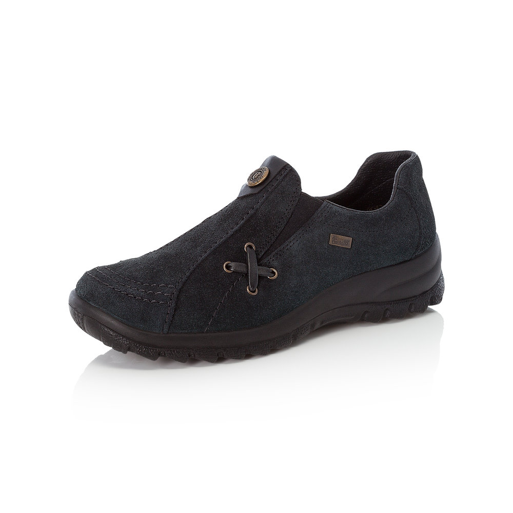 Rieker L7171-14 Navy slip-on Tex shoe   Sizes - 40, 41 and 42.   Price - £62 NOW £45