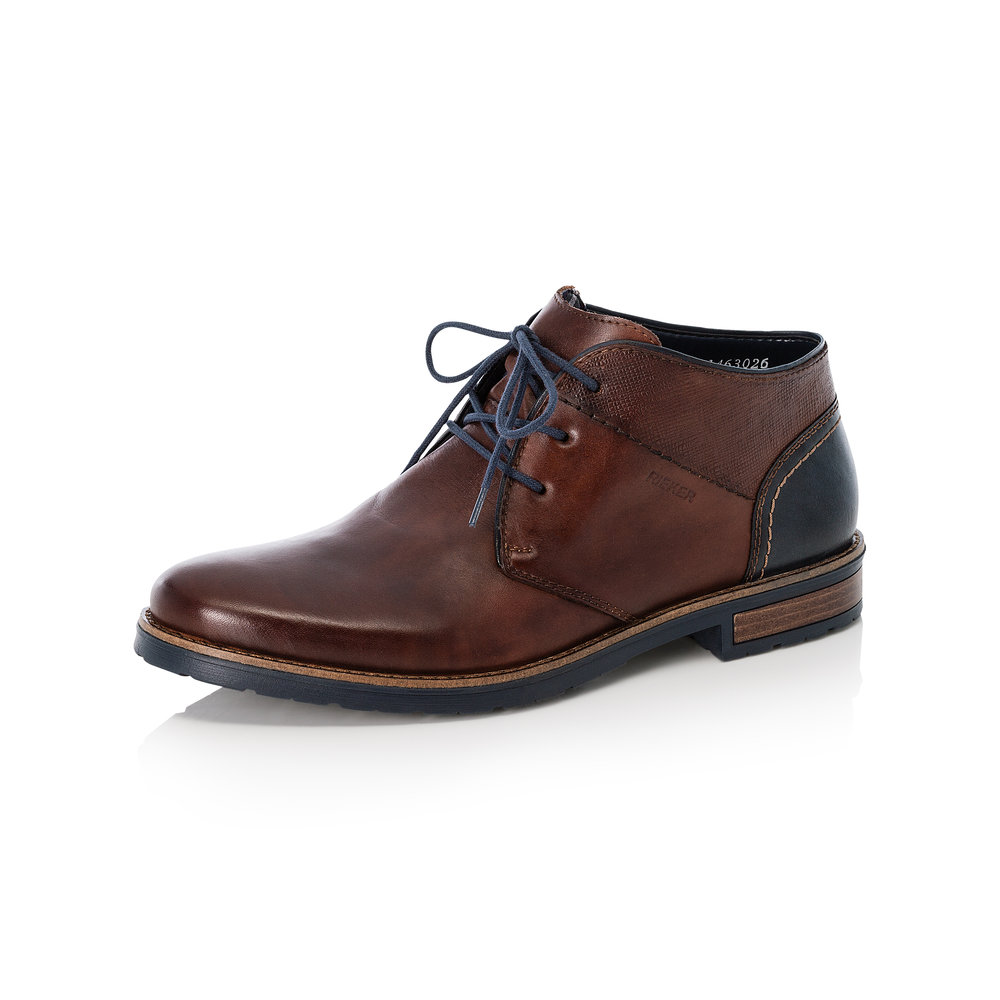 Rieker Mens 14630-26 Brown lace boot Sizes - 41 to 46 Price - £79