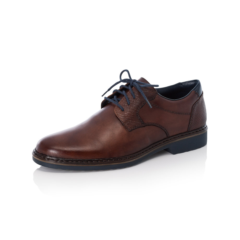 Rieker Mens 16541-25 Brown lace shoe Sizes - 41 to 46 Price - £75