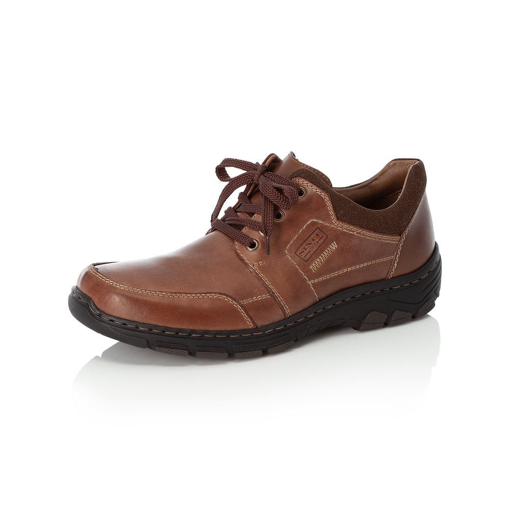 Rieker Mens 19911-25 Brown lace shoe   Sizes - 41, 42, 44 and 46.   Price - £72