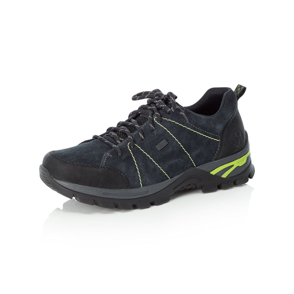 Rieker Mens B6819-00 Navy lace Tex trainer   Sizes - 42, 43 and 44.  Price - £75